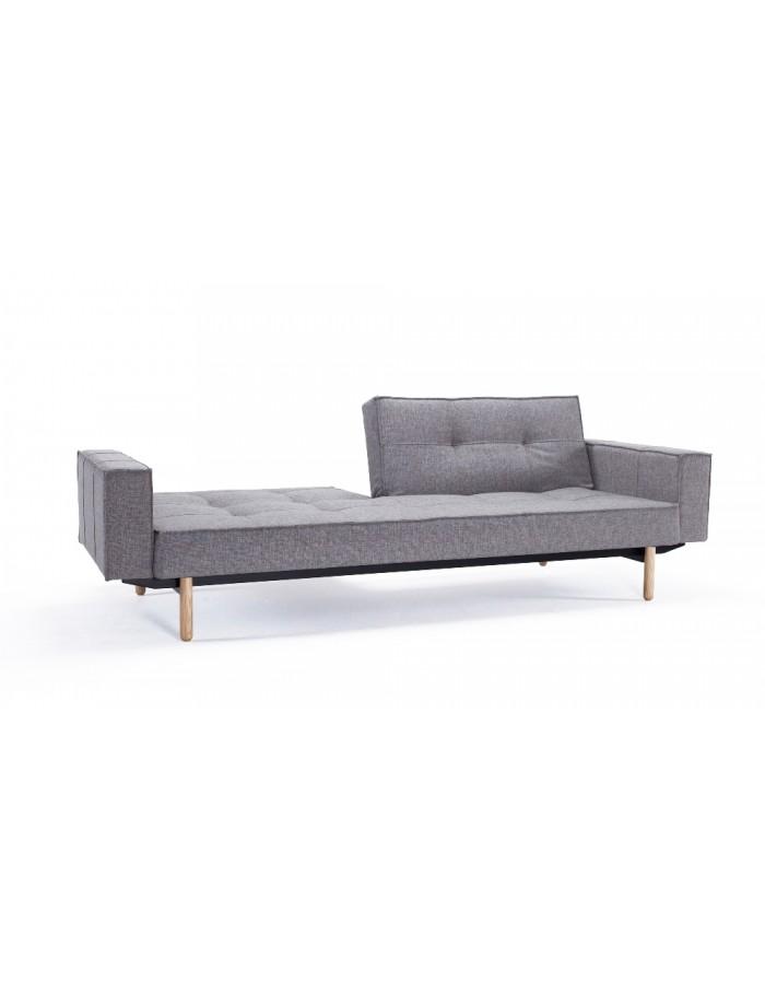 innovation splitback sofa bed with arms everyday use. Black Bedroom Furniture Sets. Home Design Ideas
