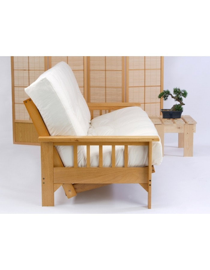 Futon Mattress bi fold for three seat futon sofa beds UK delivery
