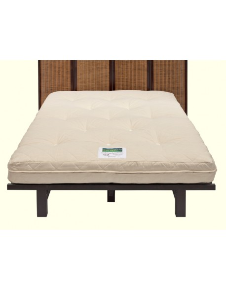 Cottonsafe chemical free traditional 8 layer futon bed mattress.