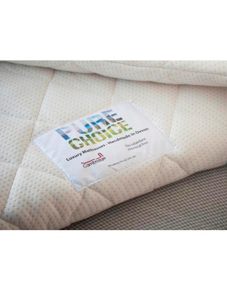 mattress topper pure choice chemical free cool polyester. Black Bedroom Furniture Sets. Home Design Ideas