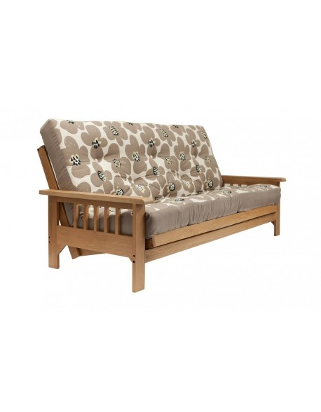 Cavendish Oak 3 Seat Futon Sofa Bed UK wide delivery