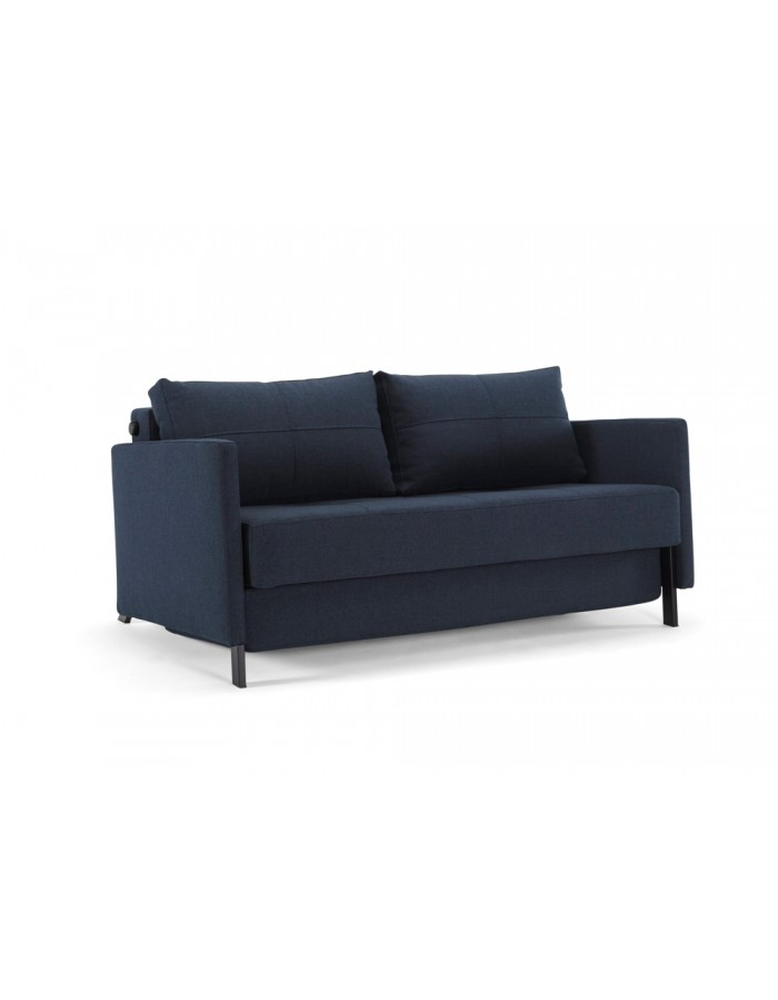 Innovation cubed sofa bed with arms living space sofa for Innovation sofa cover