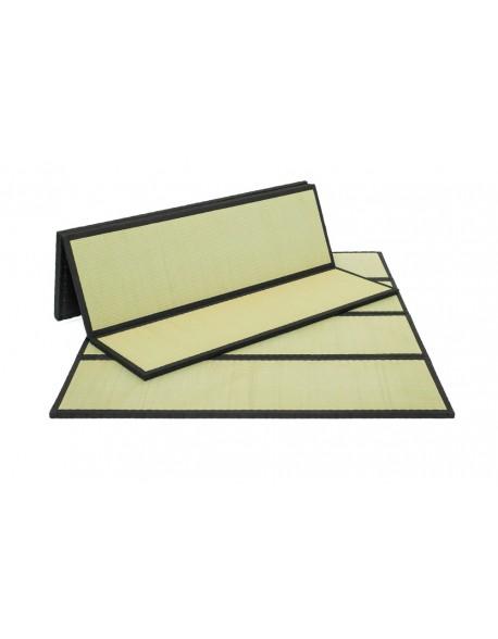 The Wabi Tatami is easily folded for storage