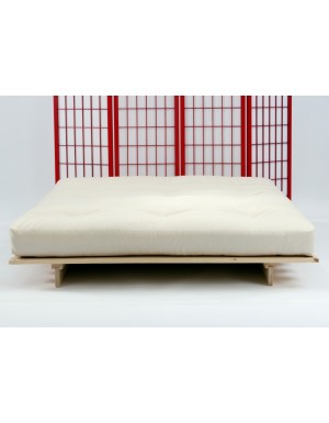 Futon Mattress - 8 Layer Lambswool & Woolfelt