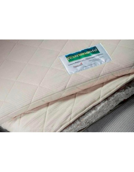 Cottonsafe mattress topper, the natural option free of chemicals.