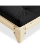 Elan bed corner detail - natural frame