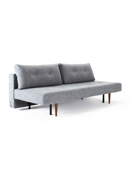 Innovation Recast Sofa Bed in Twist Granite fabric