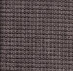 Charcoal 'Waffle' Chenille