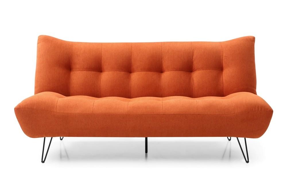Orange Soft Touch Chenille